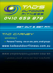 Tads Outdoor Fitness Branding