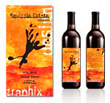 Squiggle Graphix Wine Label