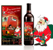Christmas Celebrations Wine Label
